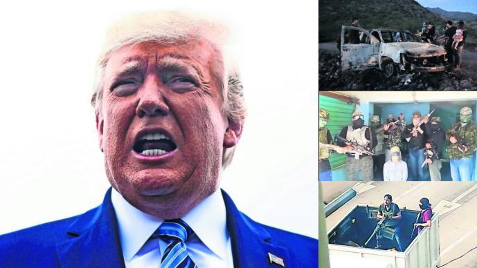 EU designará a los carteles mexicanos de la droga como terroristasDonald Trump