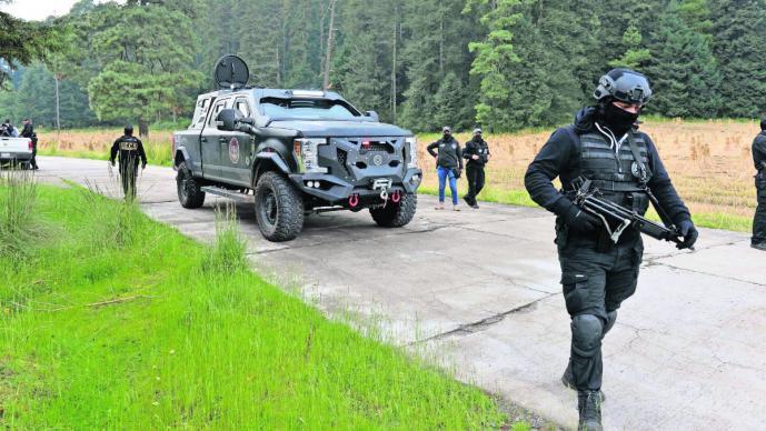 Seguridad Nevado Toluca levantones