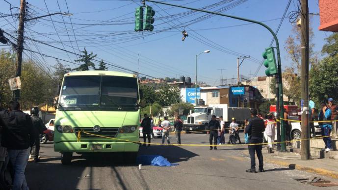 atropellada transporte publico alvaro obregon cdmx