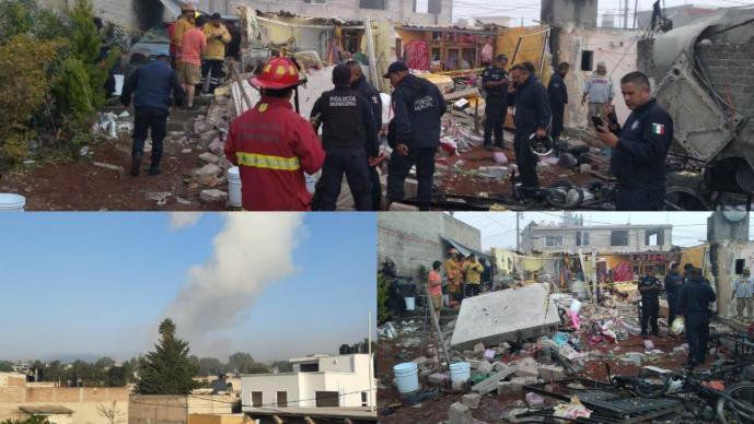EXPLOSION TULTEPEC ESTADO DE MEXICO MUERTOS HERIDOS