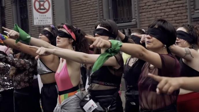 feministas performance cdmx