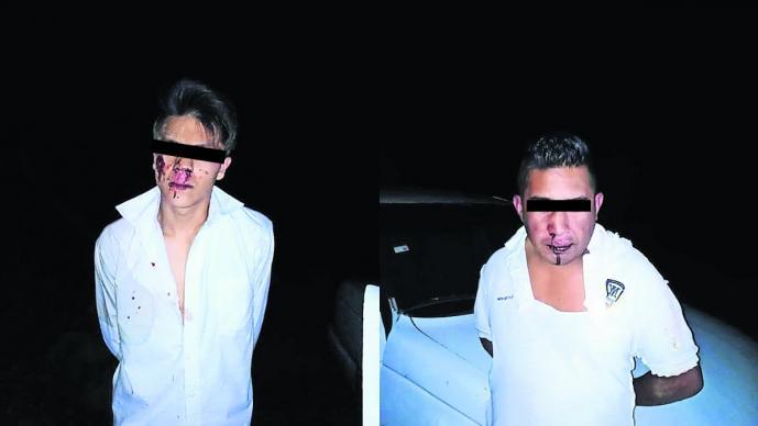 Habitantes de Morelos golpean y casi linchan a presuntos ladrones de nopales