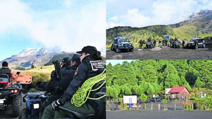 Vigilancia Nevado Toluca secuestro
