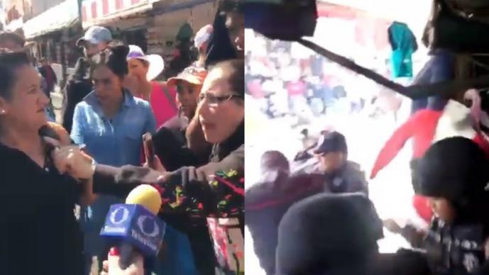 Zafarrancho retiro ambulantes Edomex