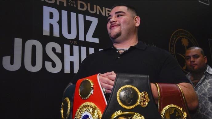 Exorbitantes precios para los boletos de la pelea de Andy Ruiz