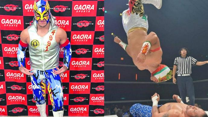 Flamita Ring of Honor Lucha Capital