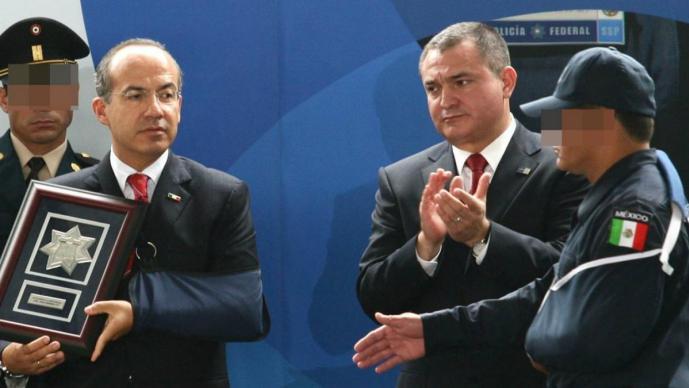 Arrestan a Genaro García Luna, exsecretario de seguridad de Calderón ligado con El Chapo
