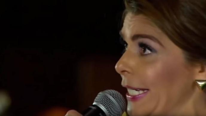 Itatí Cantoral interpreta 'La Guadalupana' y en redes se burlan de ella