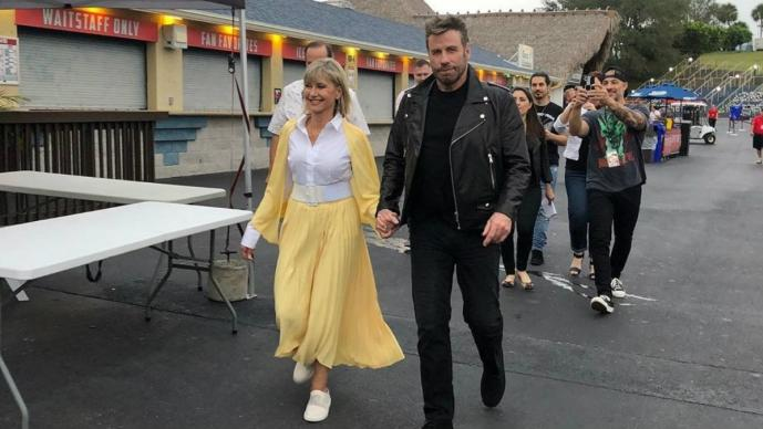 John Travolta y Olivia Newton-John causan escándalo por revivir Vaselina versión 2019