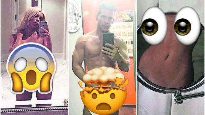 selfies famosos nudes sexy