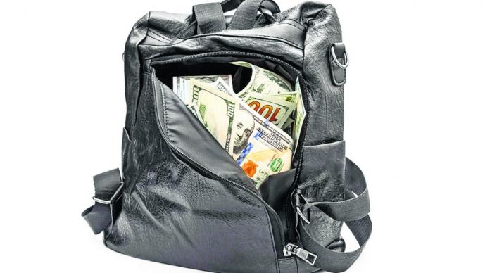 pierde mochila