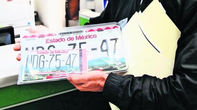 Reemplacamiento 2020 estado de mexico