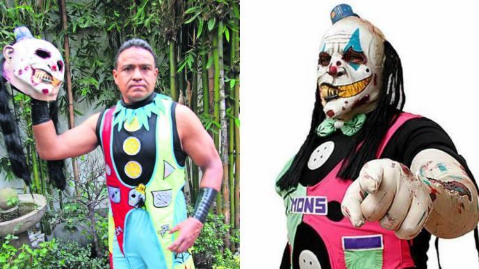 Monsther Clown luchador mexicano