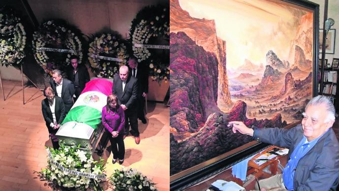 Gobierno de Morelos rinde homenaje al artista plástico Jorge Cazares Campos