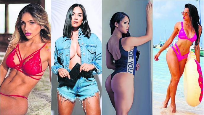 Conoce a las modelos fitness que harán de México su residencia para impartir clases