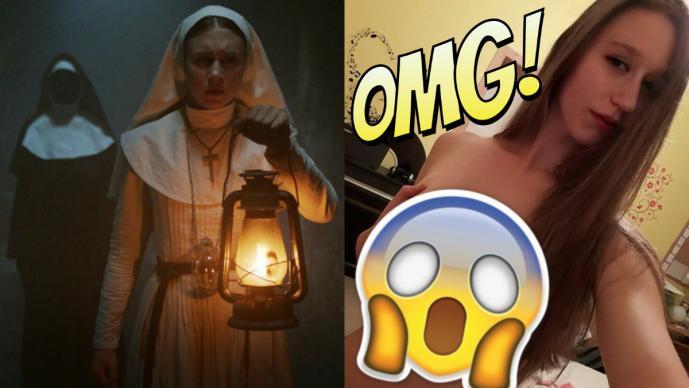 Filtran fotos íntimas de 'monja' que alcanzó la fama y se arma el escándalo