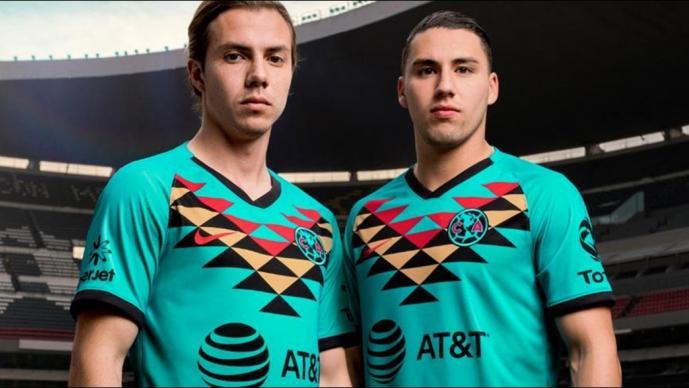 América lanza uniforme turquesa para el 2020, como tributo al Imperio Azteca