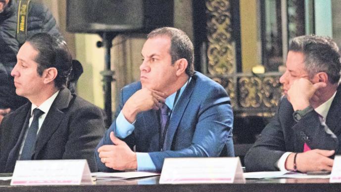 El gobernador del estado, Cuauhtémoc Blanco Bravo, indicó que, dentro de ese número de presuntos criminales se encuentra el director operativo de la Policía de Cuautla