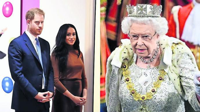 Reina Isabel acepta la renuncia del príncipe Harry y Meghan, pero se quedará con su hijo