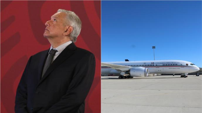 AMLO pone en rifa el avión presidencial y los memes se desatan en redes sociales