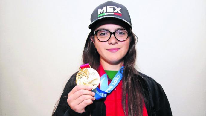 """""""Quiero ser inspiración para más niñas"""": Luisa Wilsón tras ganar medalla de oro en hockey"""