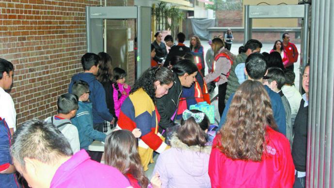 Regresan a clases alumnos del Colegio Cervantes de Torreón tras tiroteo