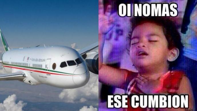 """Nace """"La Cumbia del Avión Presidencial"""" y causa furor en las redes sociales"""