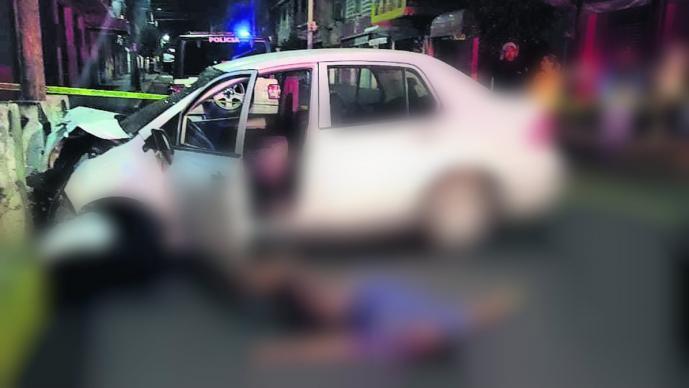 muertos Dos hombres mueren tras violento encontronazo contra muro de contención, en la GAMaccidente gam