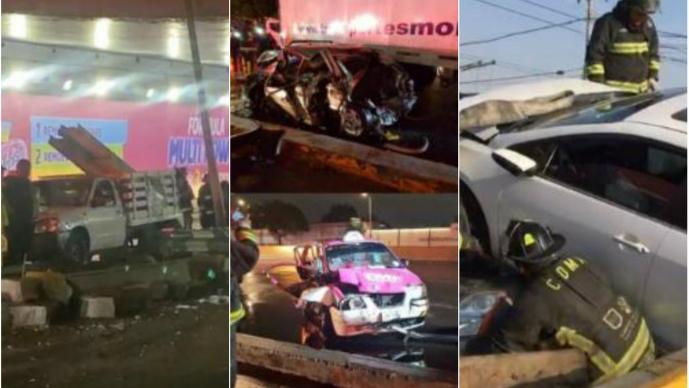 Circuito Interior maldito: Los accidentes más brutales en esta vialidad de la CDMX
