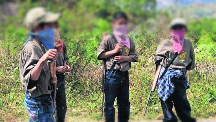 Gobierno de Guerrero lamenta que niños sean capacitados como autodefensa