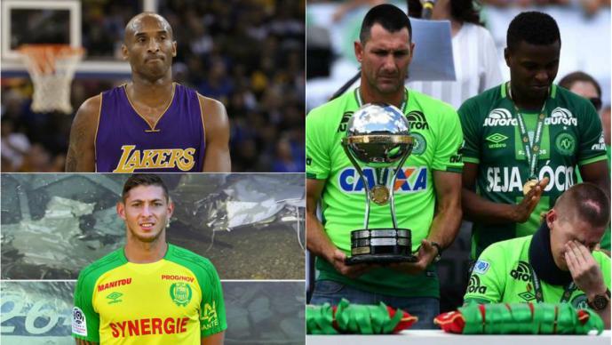 Kobe Bryant, Emiliano Sala y otros deportistas que murieron en trágicos accidentes