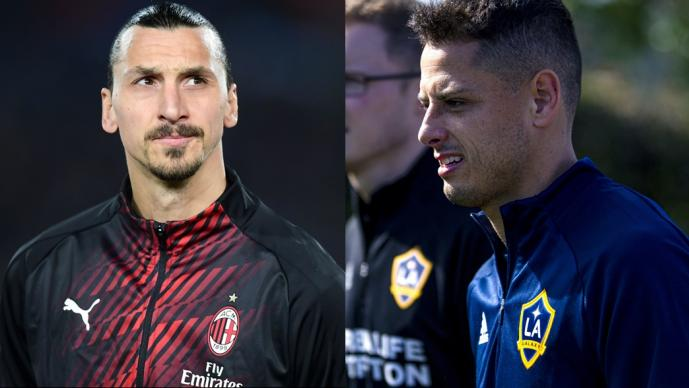 Chicharito - Ibrahimovic