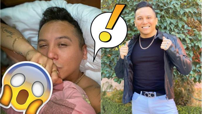 Edwin Luna de 'La Trakalosa' se desnuda para sus fans en Instagram