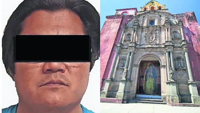 Delincuente detenido por pornografía infantil en Morelos era catequista de niños