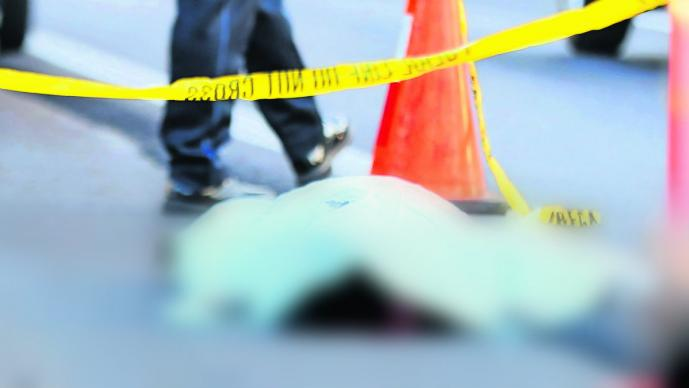 Vengador hirió a delincuente en camión, luego de que mujer saltara y muriera en Tecámac