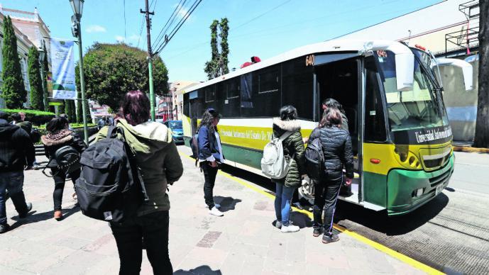 Estudiantes de la UAMéx denuncian paradas de