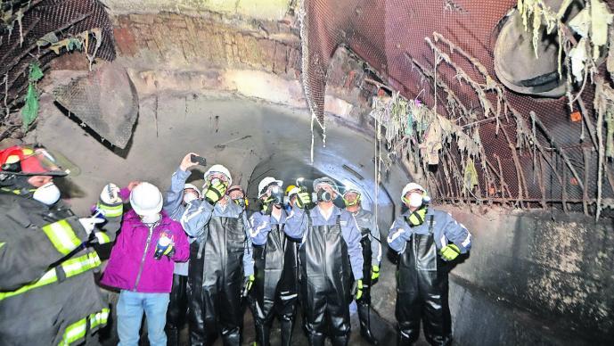 Reportan puntos de la Bóveda del Río Verdiguel en Toluca a punto de colapsar