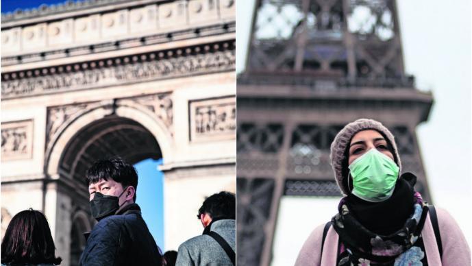 Muere en Francia un turista chino, la primera víctima de Coronavirus fuera de Asia