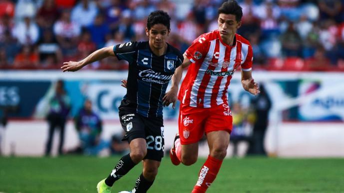 Querétaro se lleva el triunfo ante Necaxa