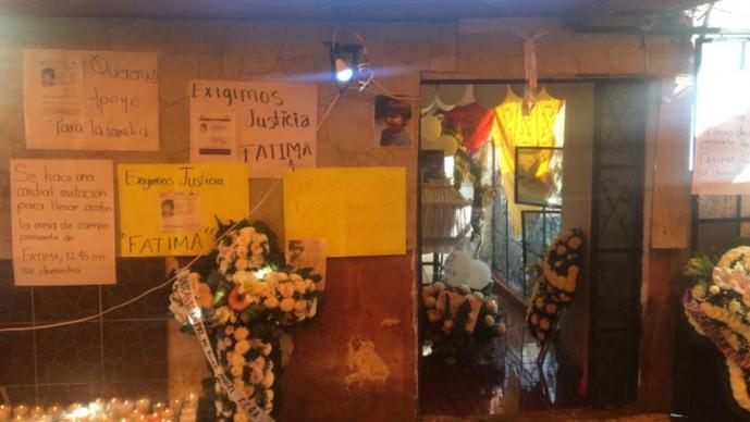Alistan misa de cuerpo presente para Fátima; en Tulyehualco desconocen a mujer sospechosa