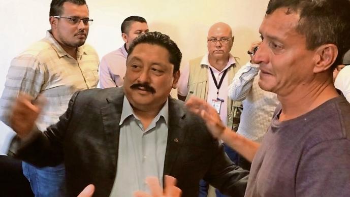 Rescatan a periodista en Cuernavaca