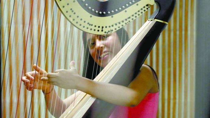Joven arpista del Edomex deleitará al público neoyorquino con recital en Nueva York