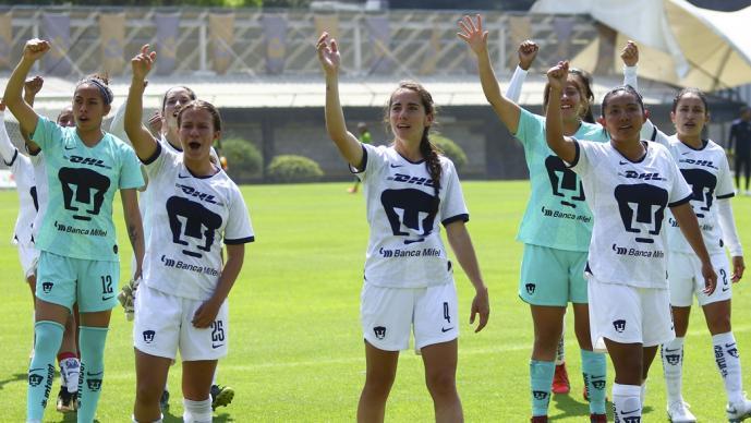 Pumas Femenil jugará por primera vez en C.U.