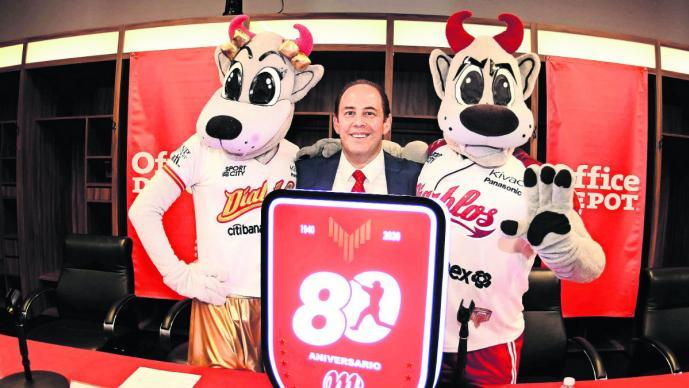 Diablos Rojos buscan firmar a un jugador mexicano para celebrar sus 80 años