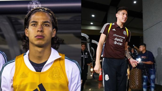 Diego Lainez y Edson Álvarez, en la lista del preolímpico de la Concacaf