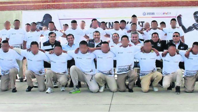 Con taller de boxeo, internos del penal de Tenango sueñan con otros estilos de vida