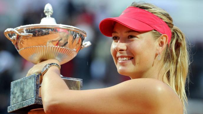 María Sharapova se retira del tenis
