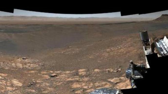 Curiosity registra la panorámica de Marte de mayor resolución hasta el momento
