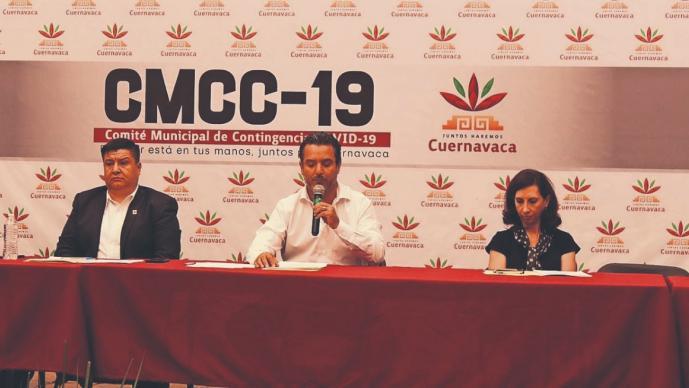 Ayuntamiento de Cuernavaca anuncia medidas preventivas para evitar contagios de Covid-19
