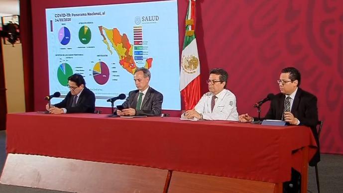 Secretaría de Salud revela que contingencia por coronavirus podría durar hasta septiembre